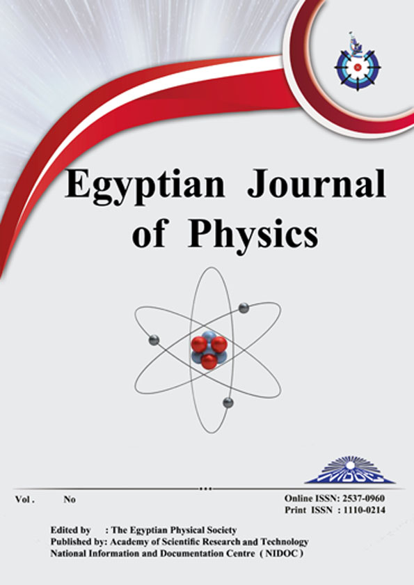 Egyptian Journal of Physics
